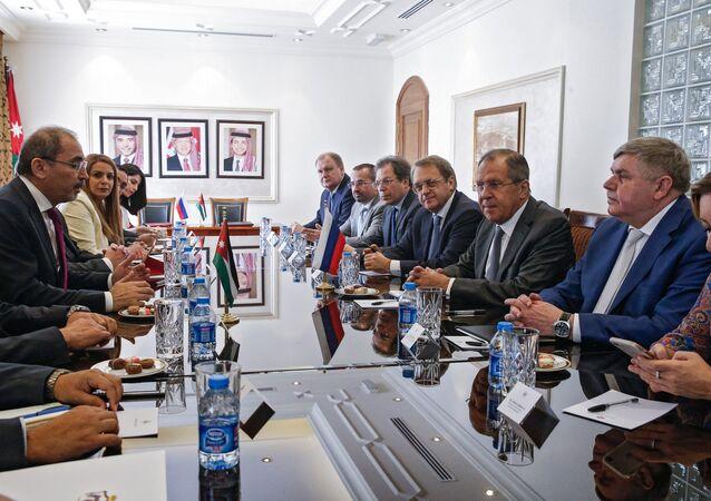 زيارة وزير الخارجية الروسي سيرغي لافروف إلى الأردن، 11 سبتمبر/أيلول 2017