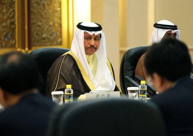 رئيس الوزراء الكويتي، جابر المبارك الحمد الصباح