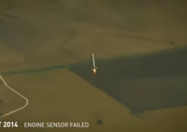 محاولات هبوط صاروخ  Falcon 9 الفاشلة