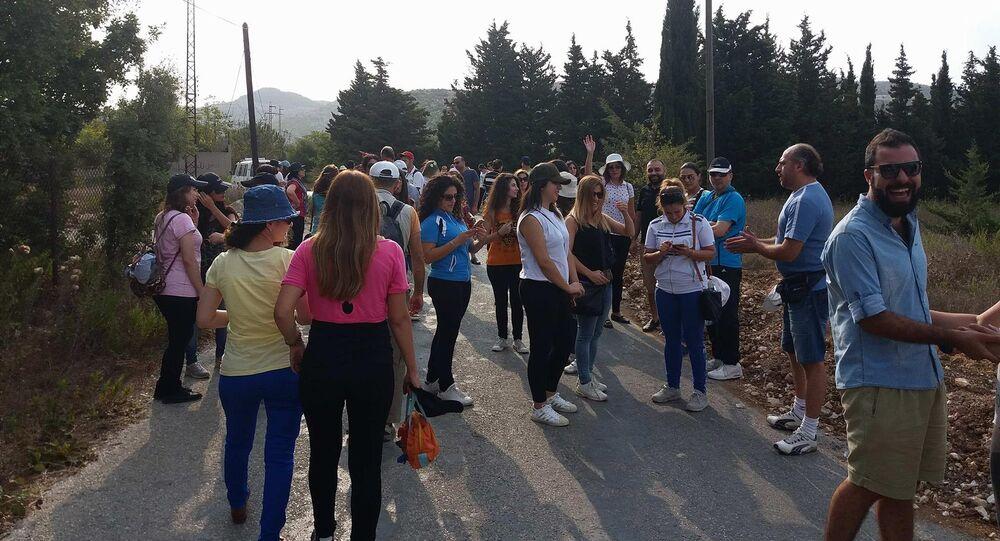 مسيرة اليوغا في جبال اللاذقية