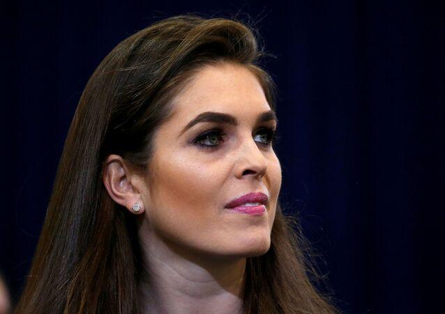 عارضة الأزياء التي ستصبح مديرة الاتصالات في البيت الأبيض هوب هيكس