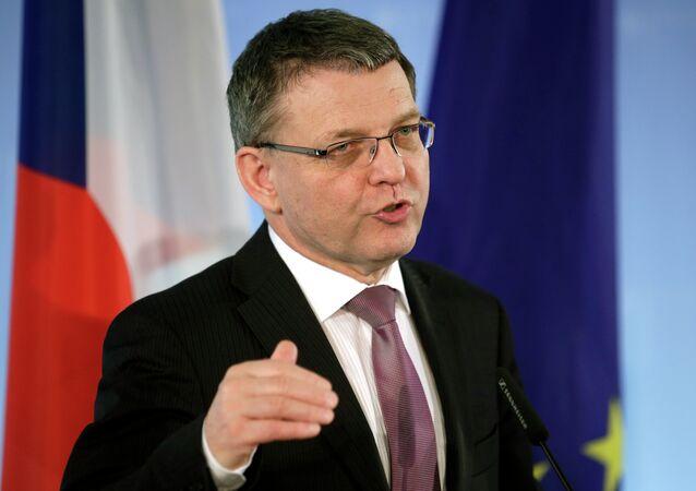 لوبومير زاوراليك، وزير الخارجية التشيكية