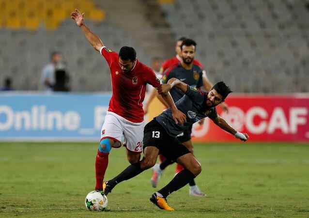 مبارة الأهلي المصري والترجي التونسي بدوري أبطال أفريقيا