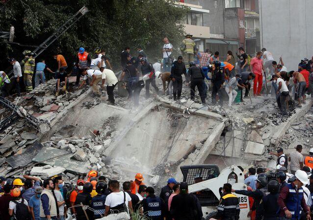 زلزال المكسيك