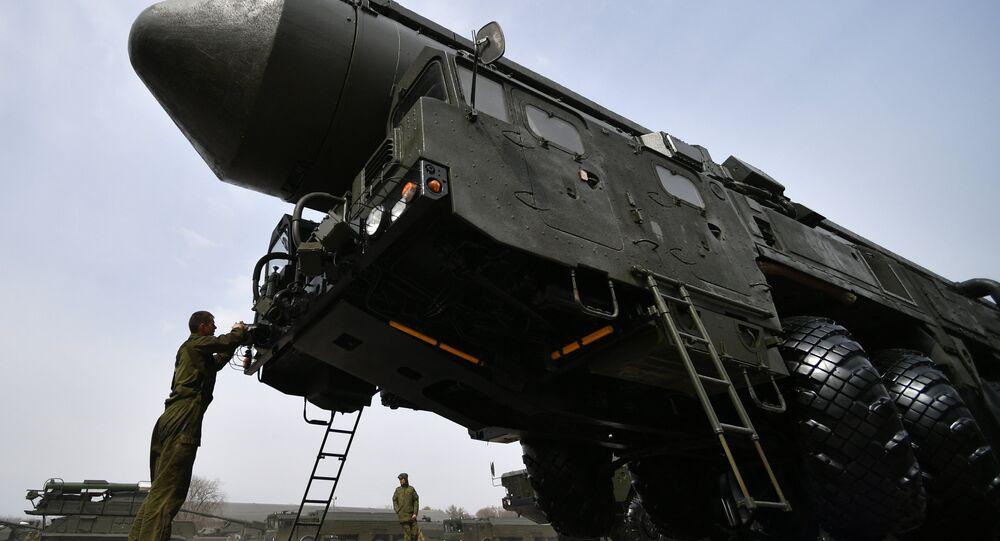 أعلنت الدفاع الروسية، عن نجاح تجربة اطلاق صاروخ يارس المتحرك البالستي العابر للقارات من ميدان بليسيتسك