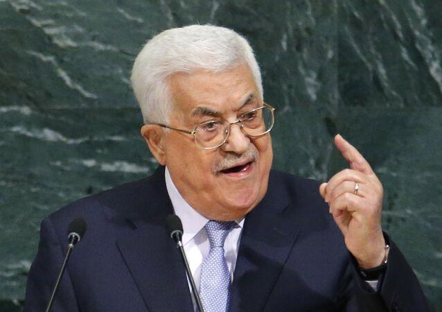 الرئيس الفلسطيني