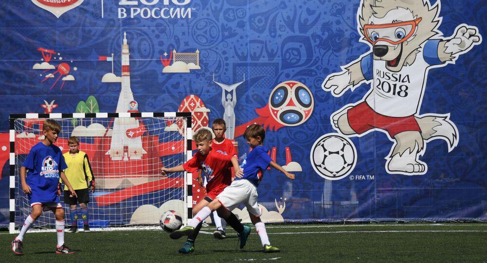 كرة قدم للأطفال