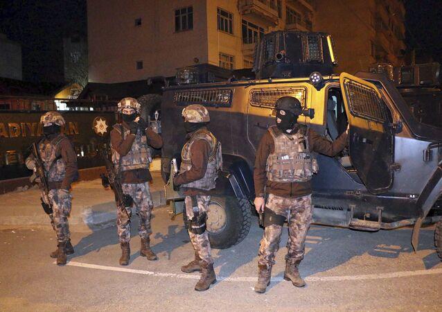 السلطات التركية تعتقل 31 اجنيا للاشتباه بانتمائهم لداعش