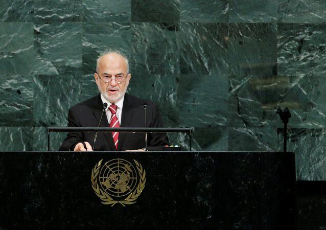 إبراهيم الجعفري في الأمم المتحدة