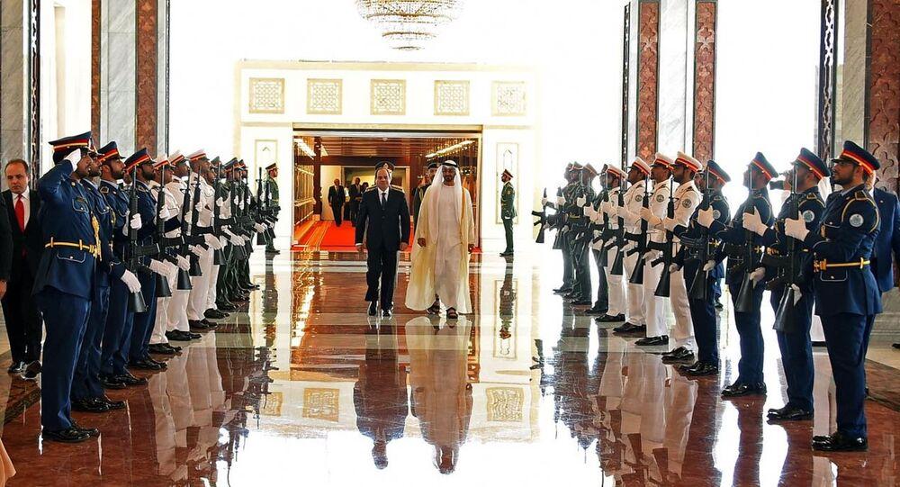 الرئيس المصري عبدالفتاح السيسي في زيارة رسمية إلى الإمارات