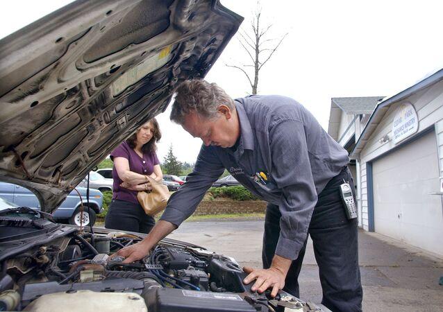 إصلاح سيارة