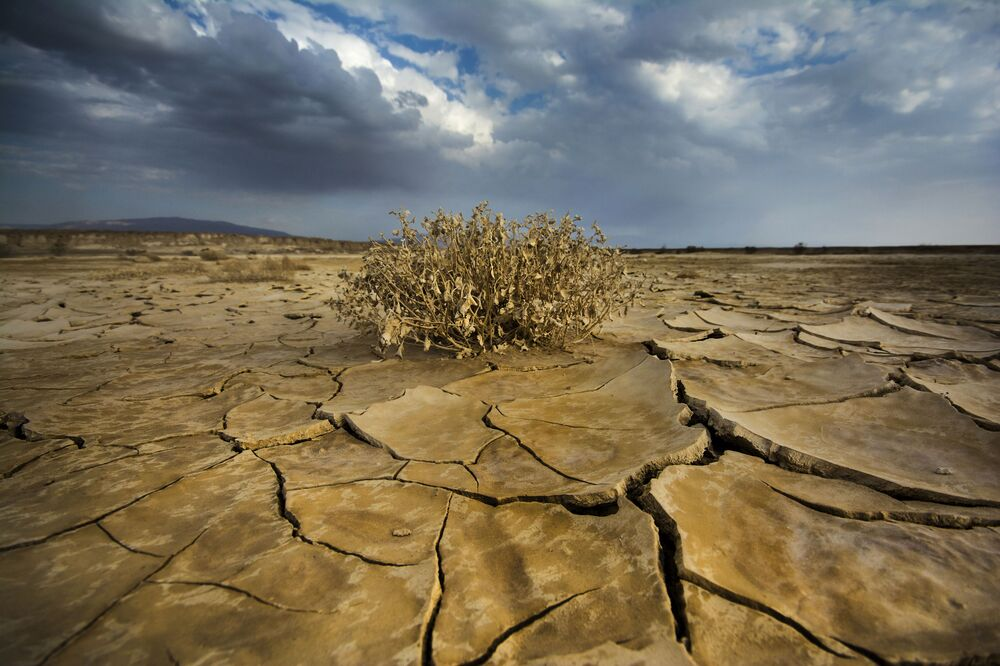 مطر في الصحراء للمصور، دانيال وينتر، الذي دخل في نهائيات مسابقة مصور الطقس لعام 2017