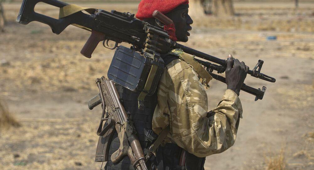 جندي سوداني جنوبي
