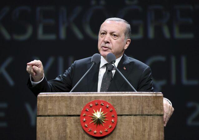 رئيس تركيا رجب طيب أردوغان