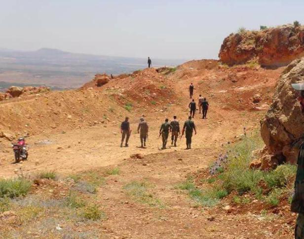 الجيش السوري يتابع عملياته لوصل الريف الغربي