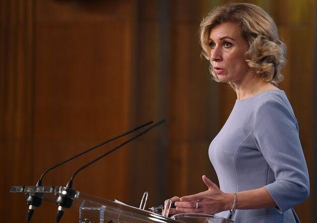 المتحدثة الرسمية باسم الوزارة الخارجية الروسية ماريا زاخاروفا