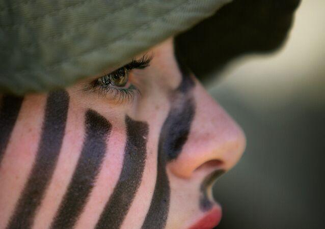 مجندة إسرائيلية