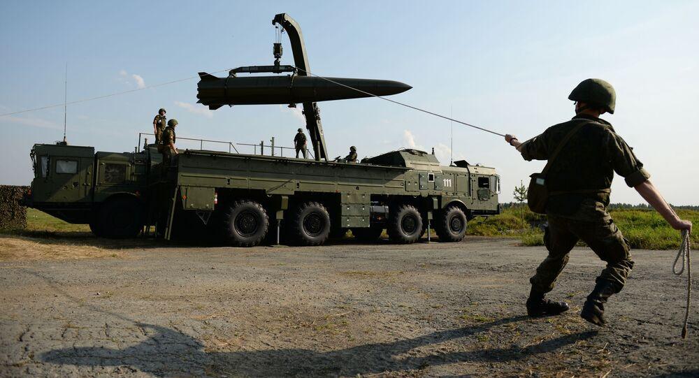 مجموعة إسكندر إم الصاروخية العملياتية التكتيكية