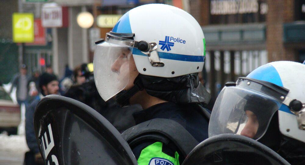 الشرطة في كندا