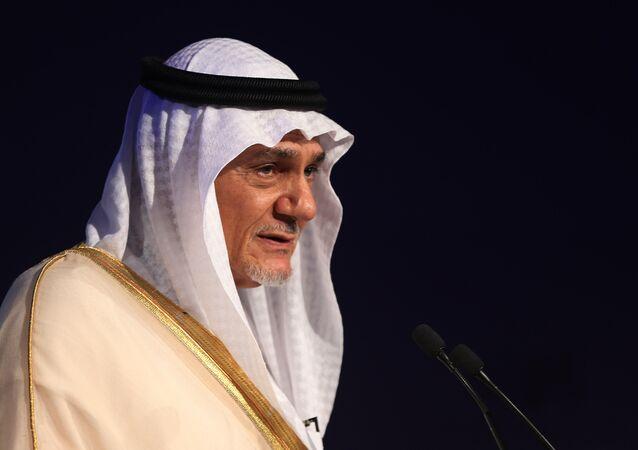 رئيس الاستخبارات السعودية السابق تركي الفيصل