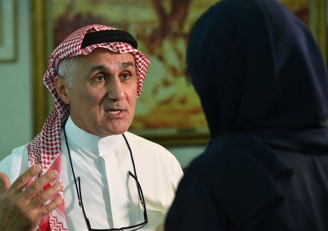 رئيس مجلس الإدارة والرئيس التنفيذي لمجموعة (أمكست)، عمرو خاشقجي،