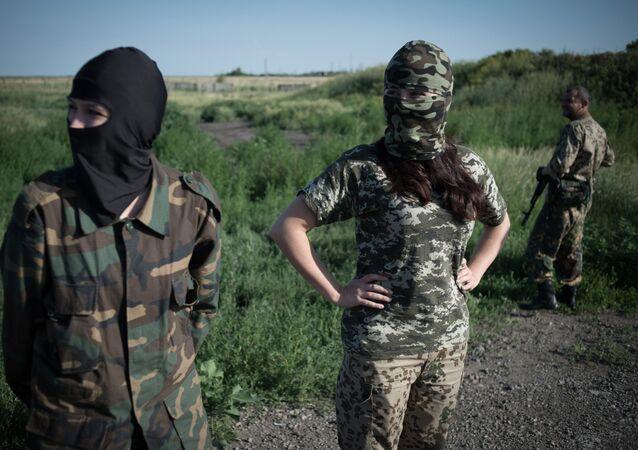 المجندات الأوكرانيات