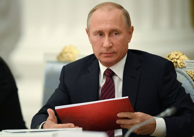 الرئيس فلايديمر بوتين، روسيا