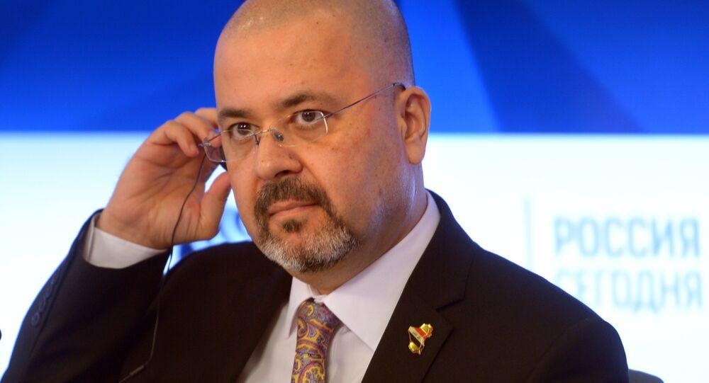 السفير العراقي لدى روسيا، حيدر منصور هادي العذاري