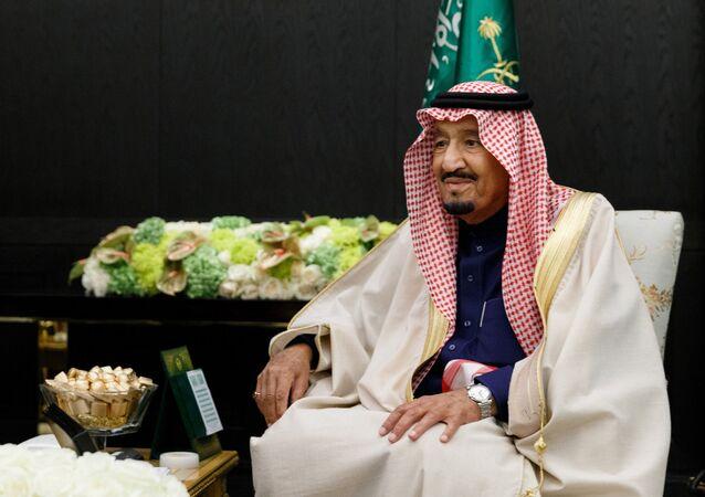 الملك السعودي يلتقي مع وزير الدفاع الروسي سيرغي شويغو