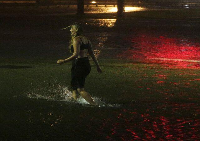 إعصار نيت في أمريكا