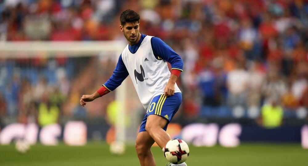 لاعب ريال مدريد ماركو أسينسيو