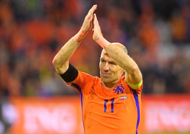 أرين روبن نجم المنتخب الهولندي