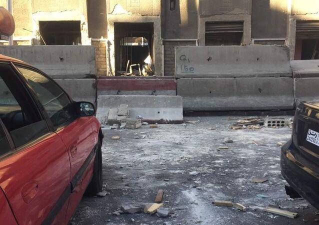 تفجير انتحاري في دمشق