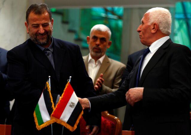 المصالحة الفلسطينية في القاهرة