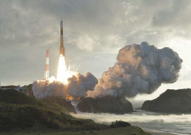 إطلاق صاروخ حامل للقمر الصناعي  H-2A، اليابان 10 أكتوبر/ تشرين الأول 2017