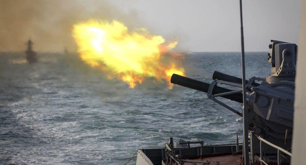 مناورات عسكرية بحرية روسية