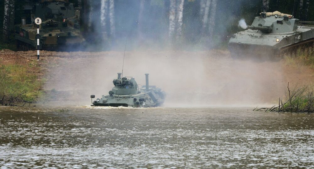 آليات الجيش الروسي