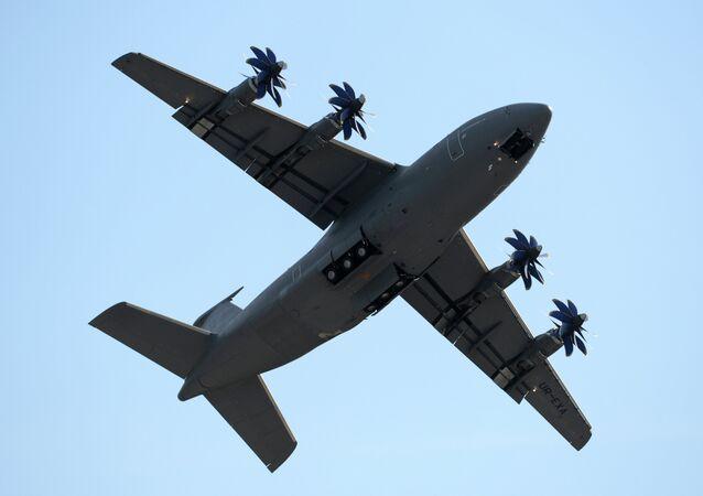 A medium range cargo plane Antonov 70