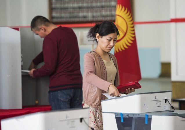 انتخابات قيرغيزستان