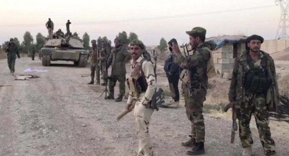 القوات العراقية تتجه نحو كركوك، العراق 16 أكتوبر/ تشرين الأول 2017