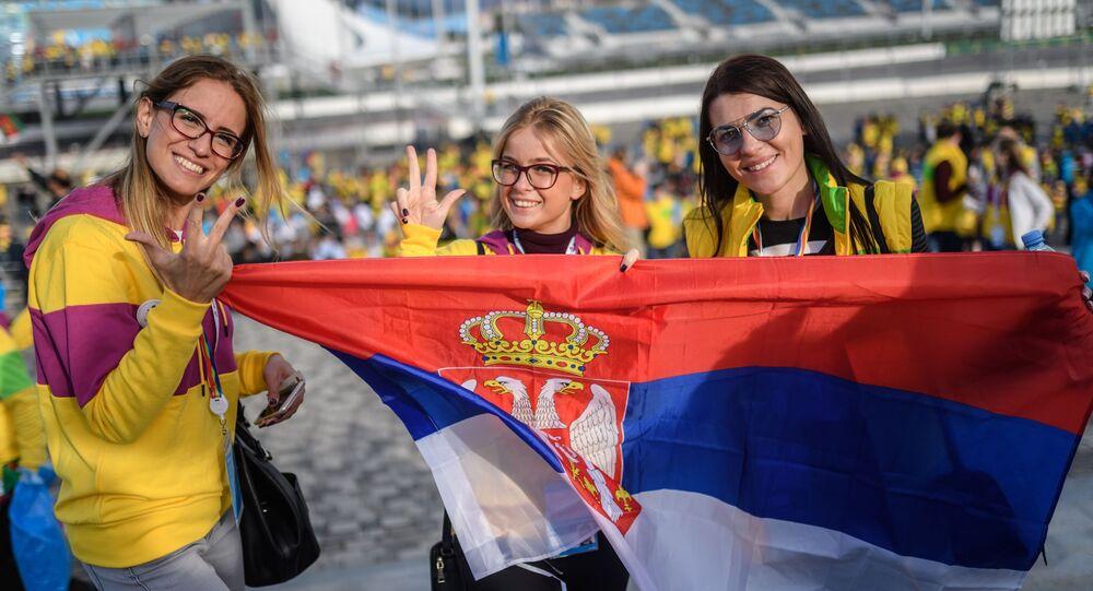 المشاركات في الدورة الـ 19 لمهرجان الشباب والطلبة العالمي في مدينة سوتشي، روسيا
