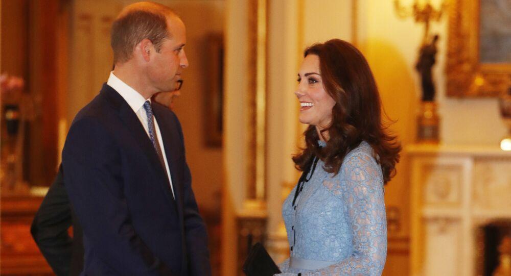 دوق ودوقة كامبريدج الأمير ويليان وكيت ميدلتون