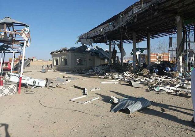 موقع هجوم الطالبان في غزني، أفغانستان