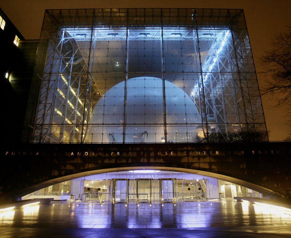 مركز لمراقبة الأجرام السماوية The Hayden Planetarium في نيويورك، الولايات المتحدة الأمريكية