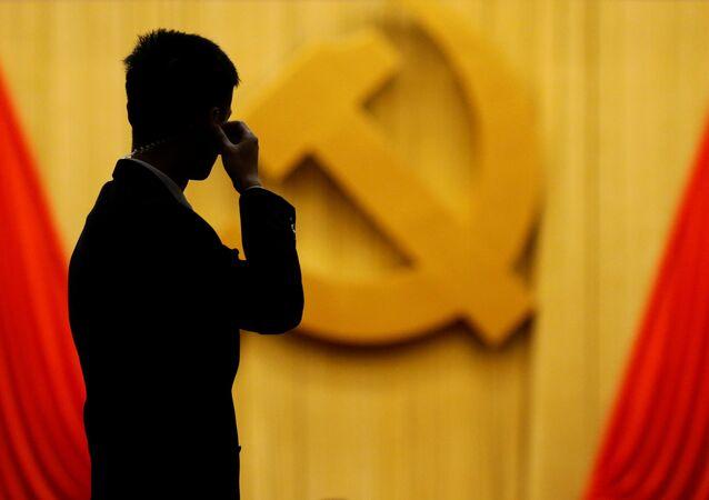 المؤتمر التاسع عشر للحزب الشيوعي في بكين، الصين 20 أكتوبر/ تشرين الأول 2017
