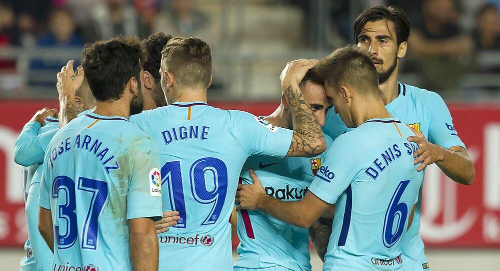 بدلاء برشلونة يحققون فوزا سهلا في كأس إسبانيا