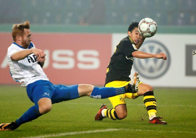بروسيا دورتموند وماغديبورغ في كأس ألمانيا