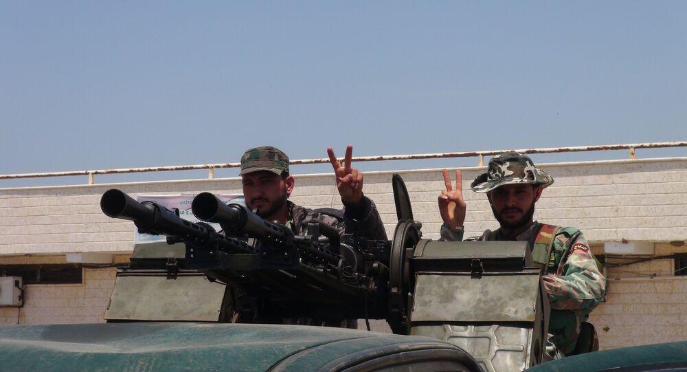 ترسانة داعش العسكرية بيد الجيش السوري