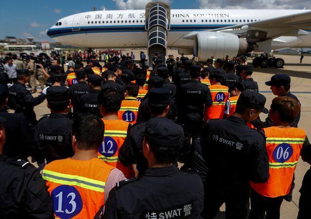 ترحيل صينيين من كمبوديا