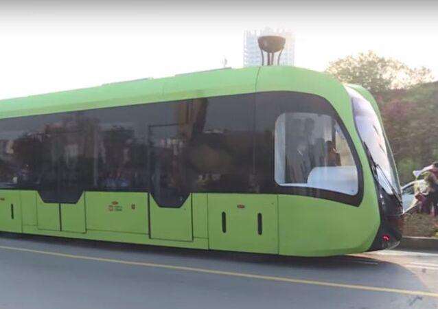 قطار ذكي في الصين